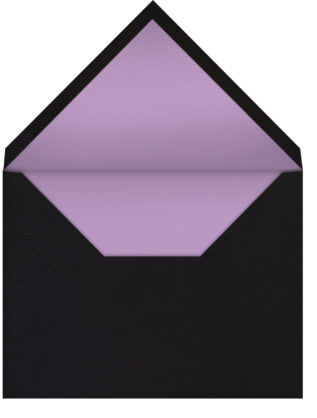Aura - Purple - Radiant Human - General entertaining - envelope back