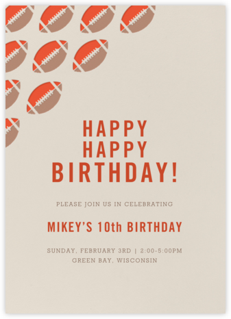 Hut Hut - Paperless Post - Online Kids' Birthday Invitations