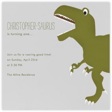 T-Rex - Paperless Post -
