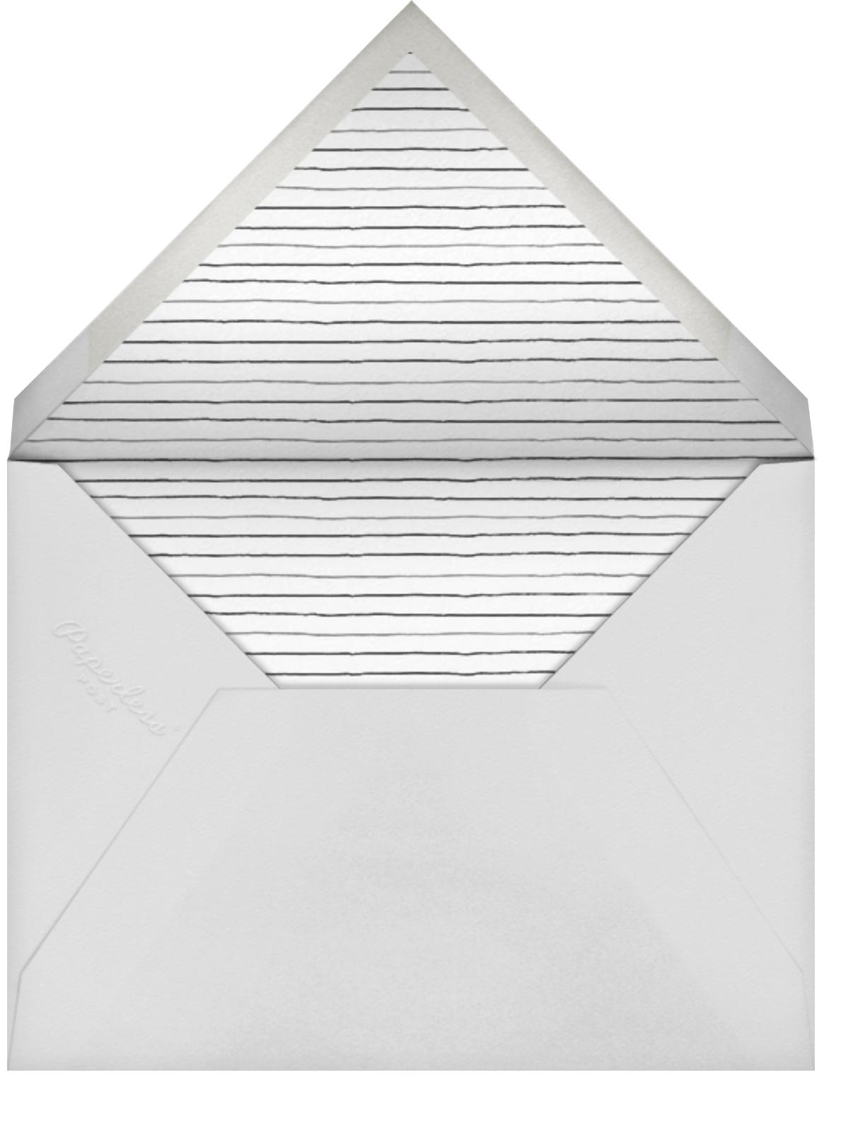 Duck Pin - Samphire - Paper Source - Baby shower - envelope back