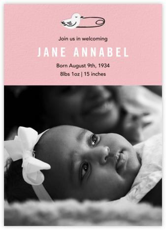 Duck Pin Photo - Blossom - Paper Source - Birth Announcements
