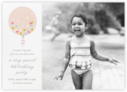 Confetti Balloon - Pink - Little Cube -