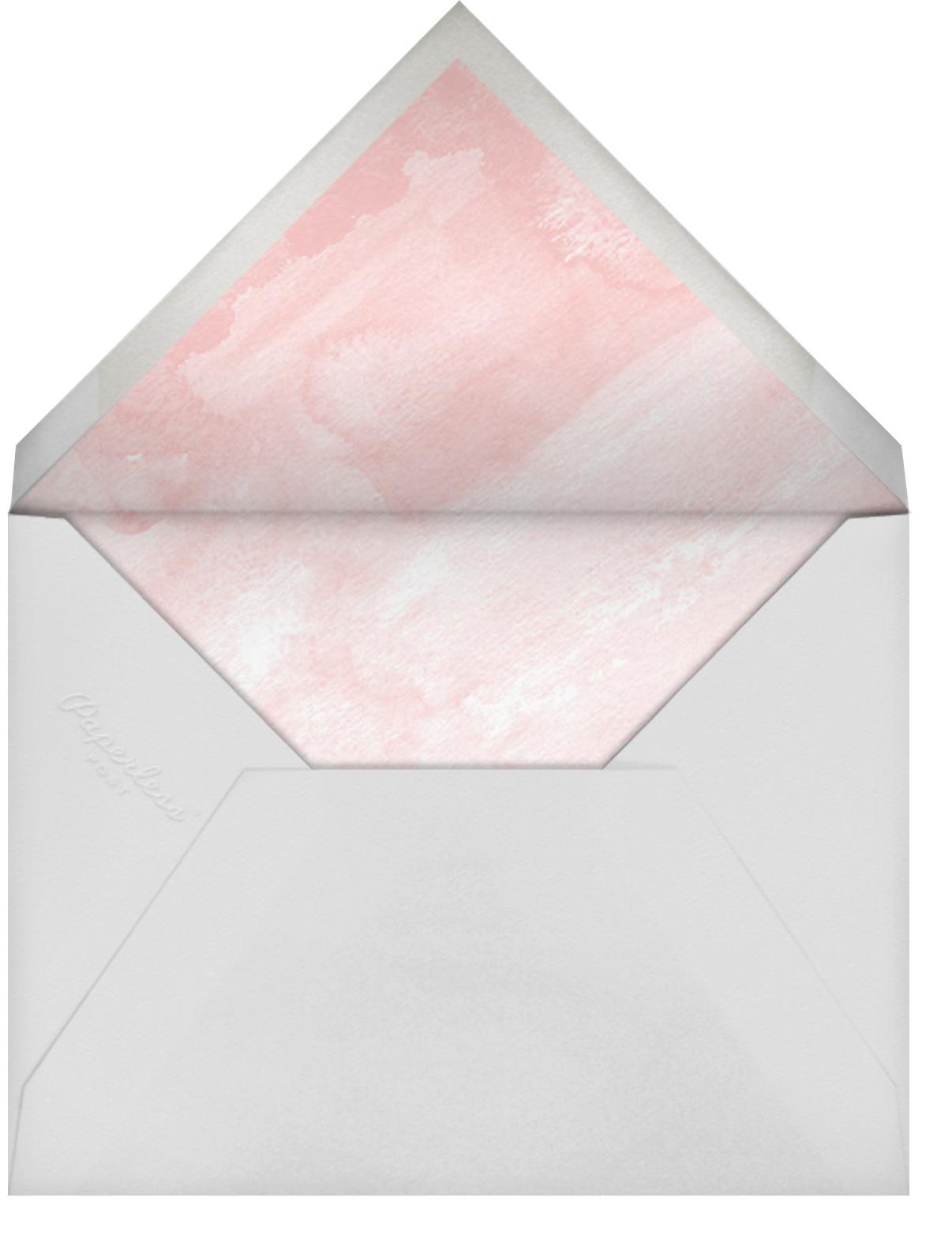 Seashells - Paper Source - Rehearsal dinner - envelope back