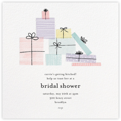 Shower Gifts - Paper Source - Bridal shower invitations