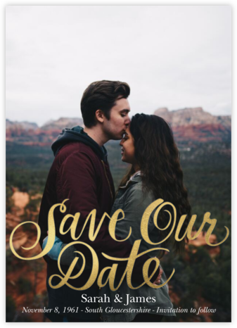 Save Our Date - Paper Source - Save the dates