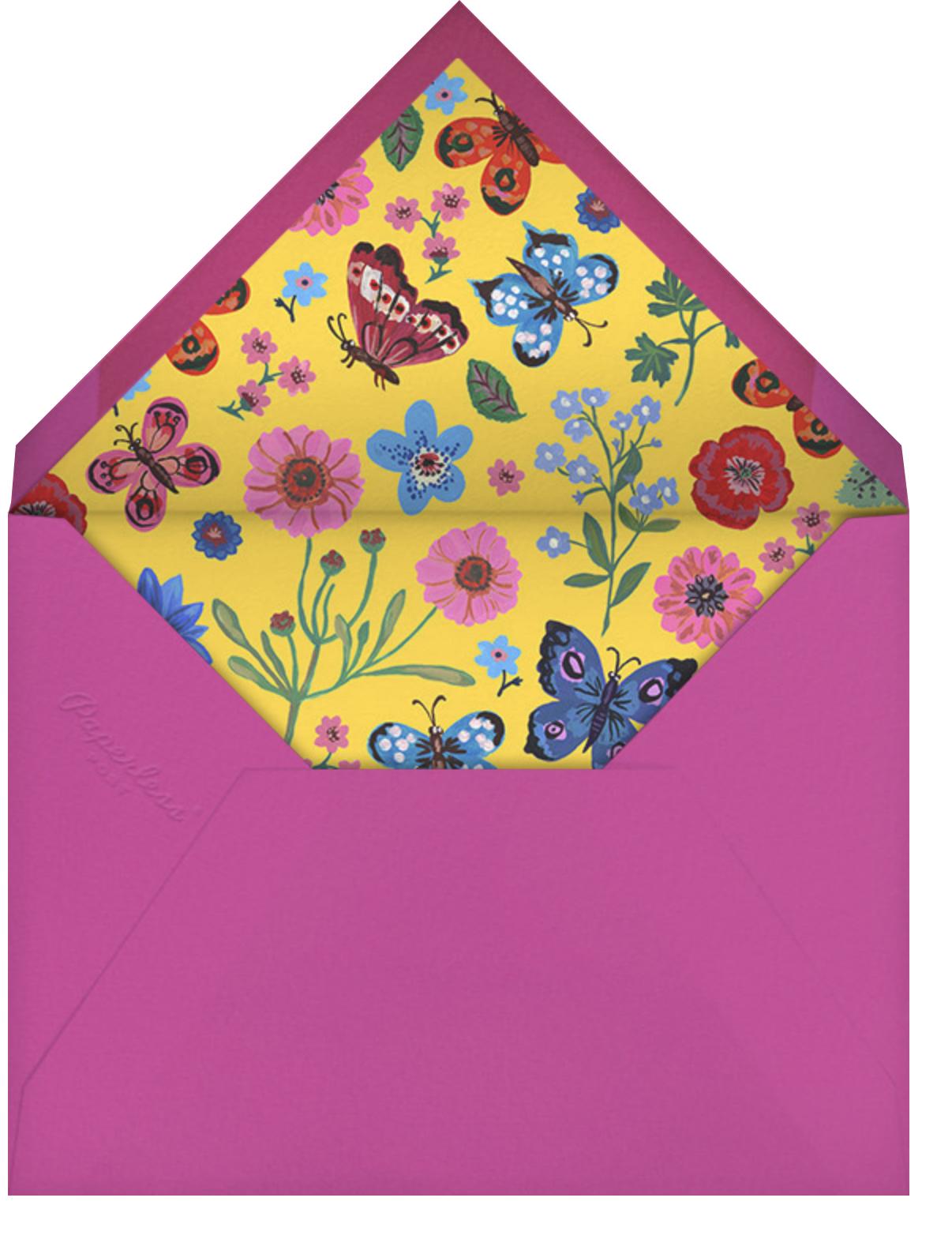Papillons - Blue - Nathalie Lété - Envelope