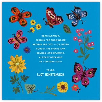 Papillons - Blue - Nathalie Lété - Nathalie Lété