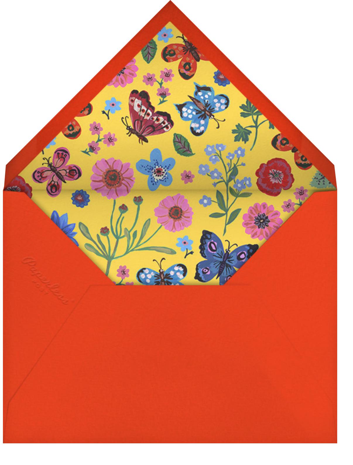 Papillons - Carnation - Nathalie Lété - Envelope