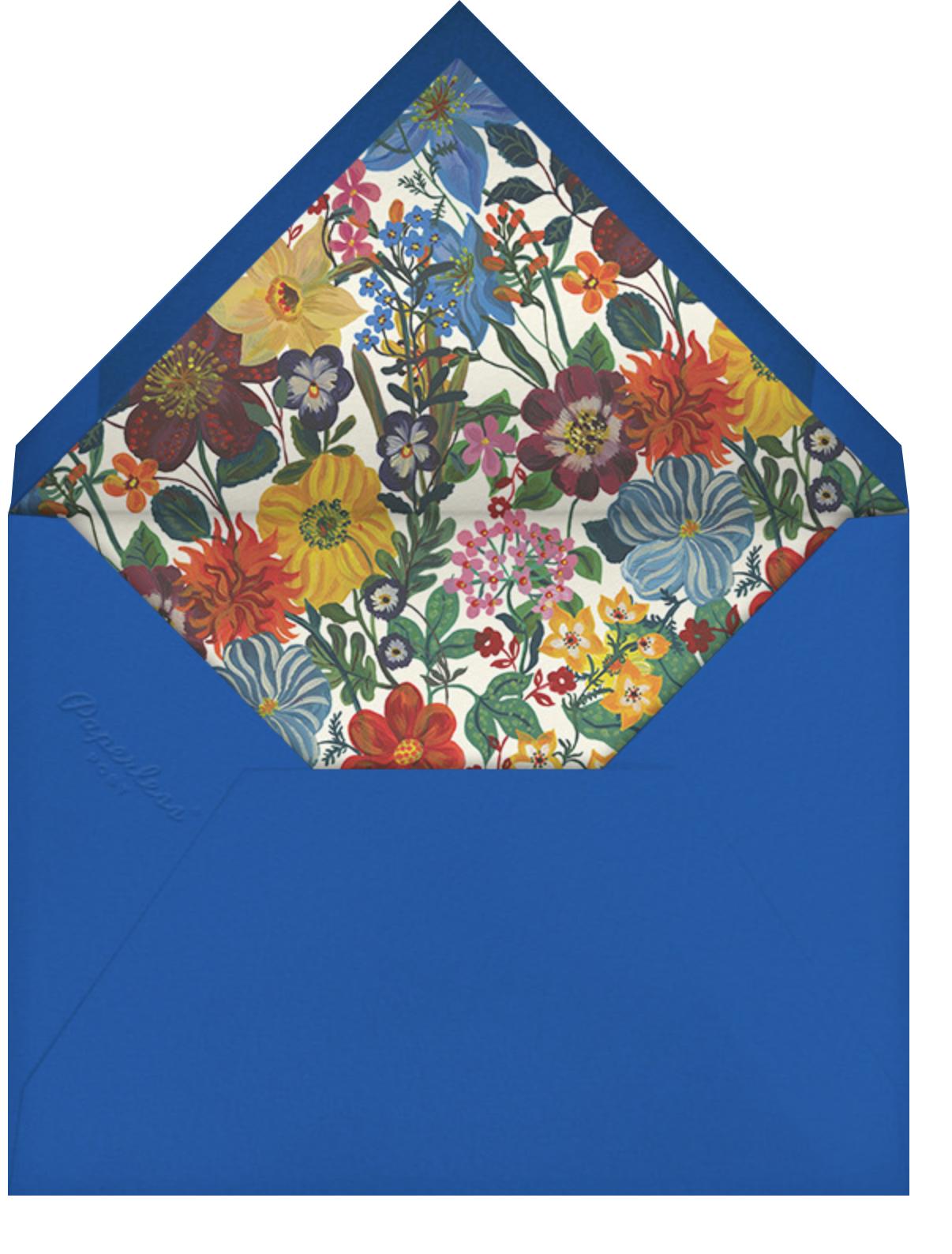 En Fleurs - Spruce - Nathalie Lété - General entertaining - envelope back