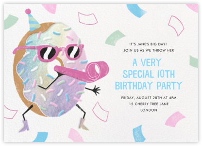 Hole Lot of Fun - Paperless Post - Kids' birthday invitations