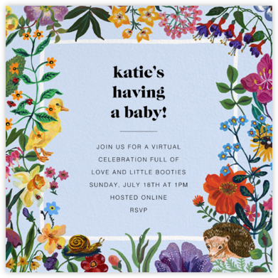 Printemps - Nathalie Lété - Woodland Baby Shower Invitations