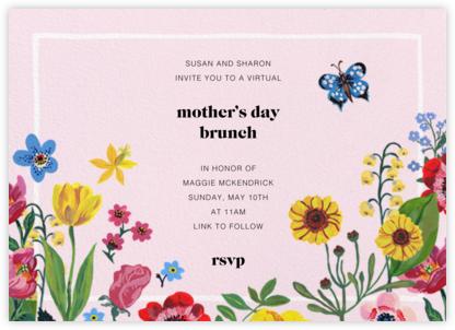 Champ de Fleurs - Nathalie Lété - Online Mother's Day invitations