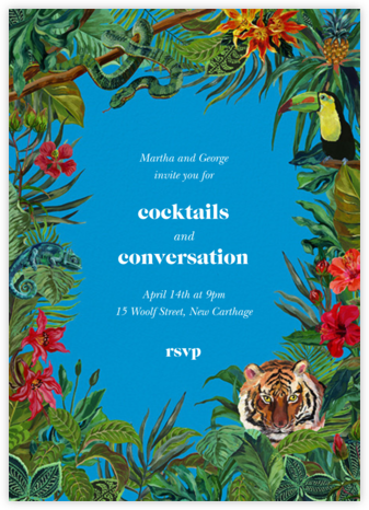 Le Tigre - Capri - Nathalie Lété - Summer Party Invitations