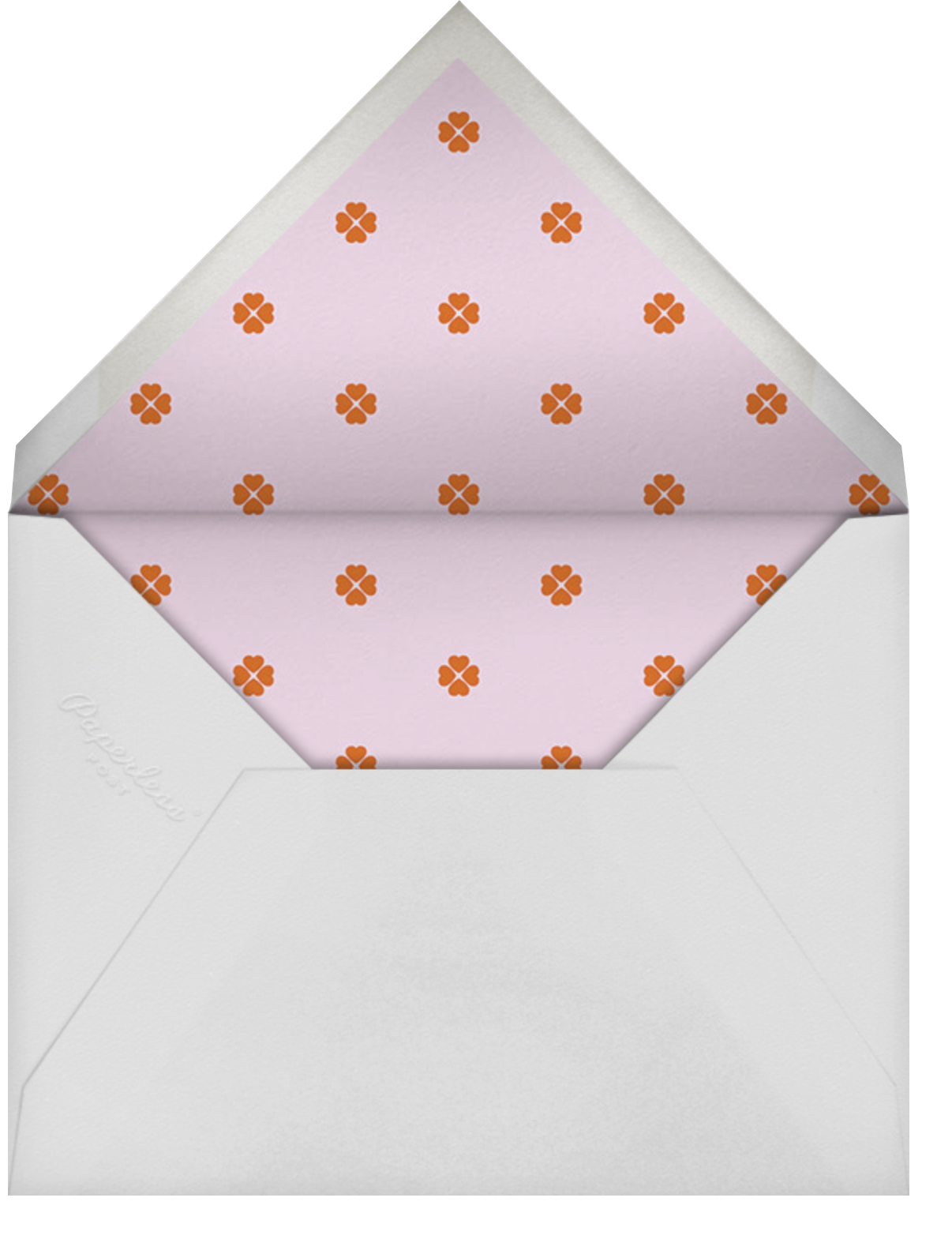 Colorblocked Stripes - Hydrangea/Longhorn - kate spade new york - Save the date - envelope back