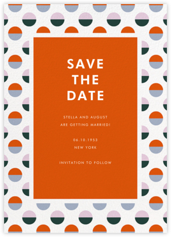 Candy Dots - kate spade new york - Save the dates