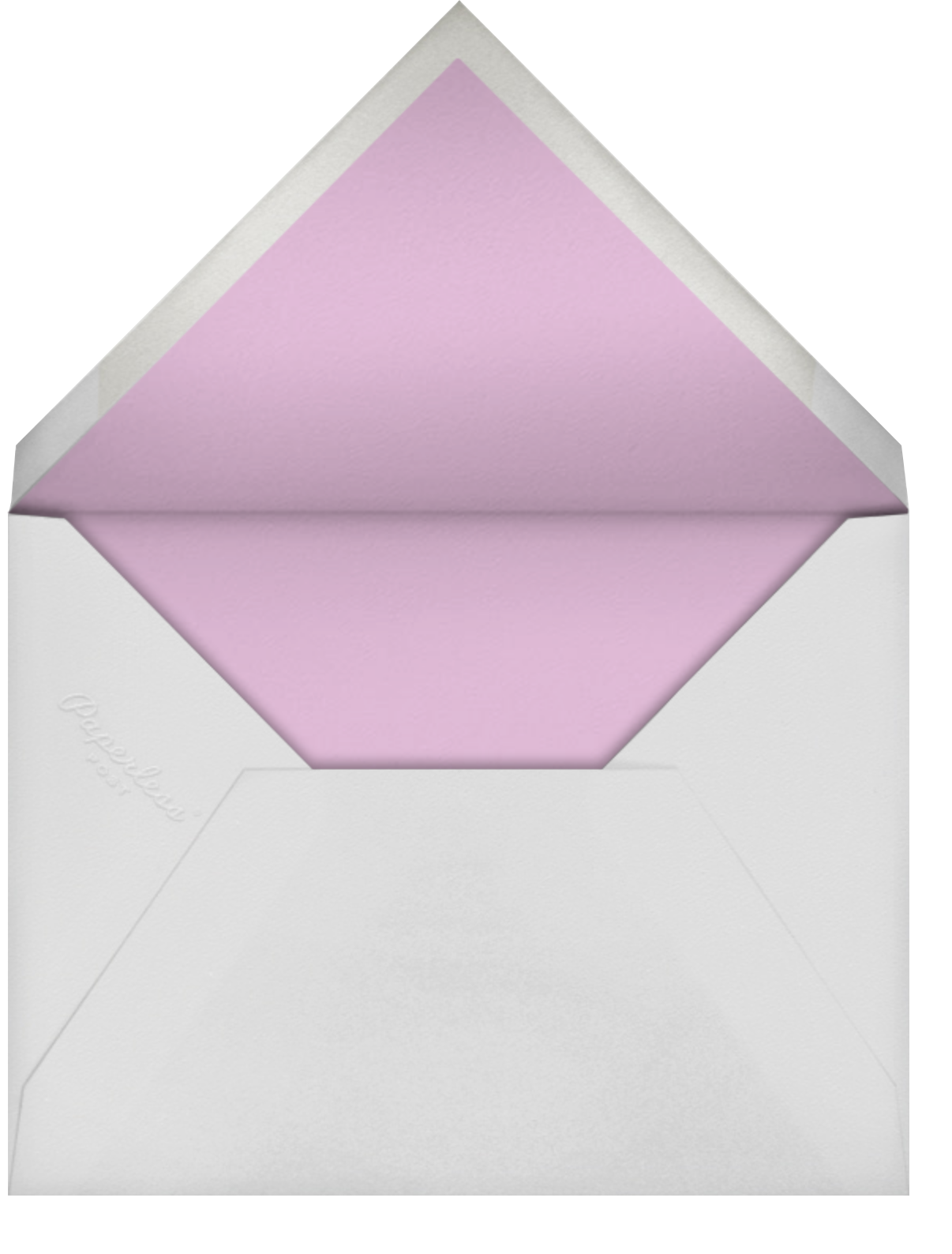 Candy Dots - kate spade new york - Save the date - envelope back