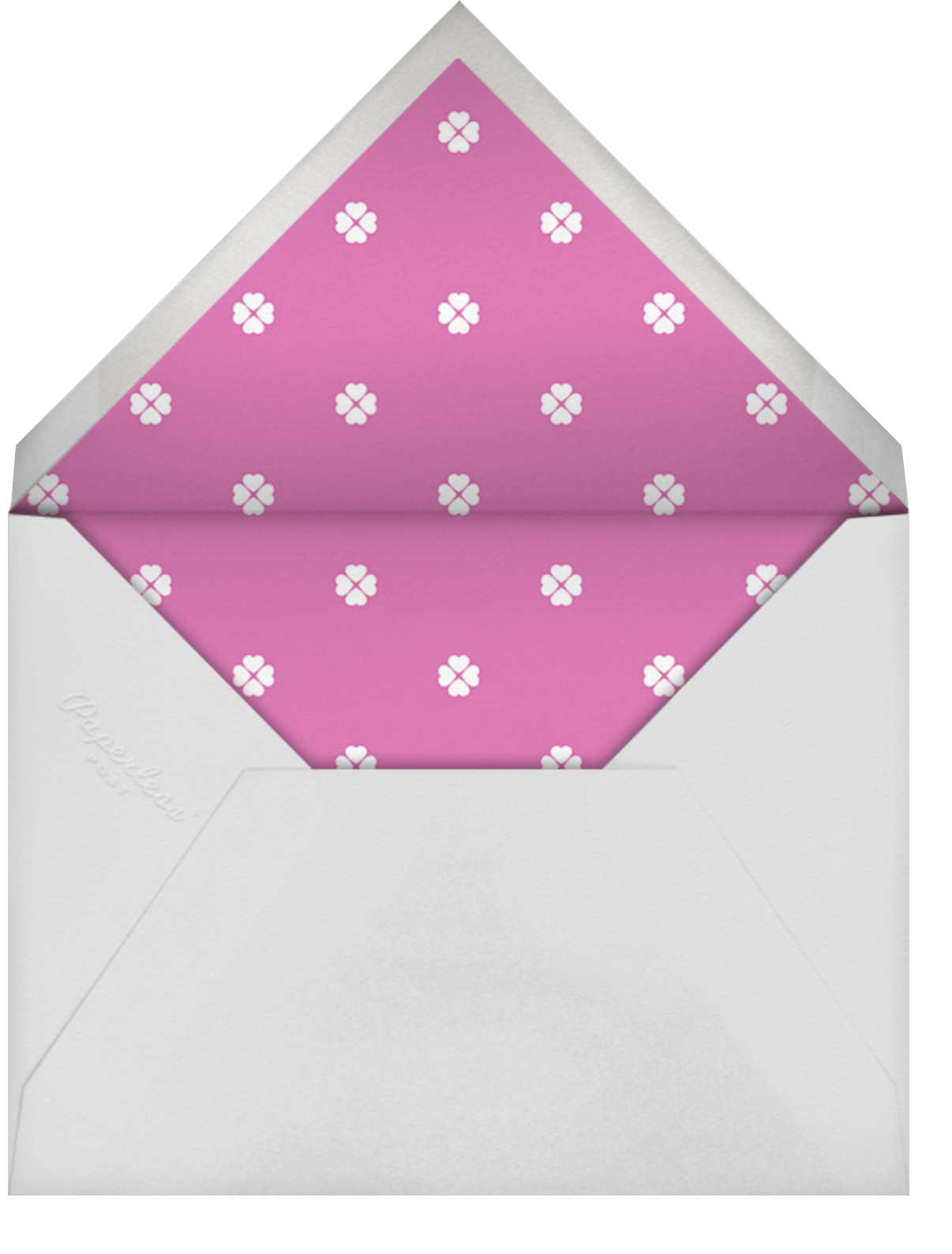 Colorblocked Stripes - Carnation/Heath - kate spade new york - General entertaining - envelope back
