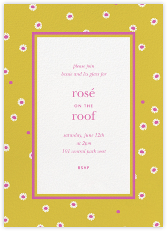 Daisy Days - Paella - kate spade new york - Kate Spade invitations, save the dates, and cards