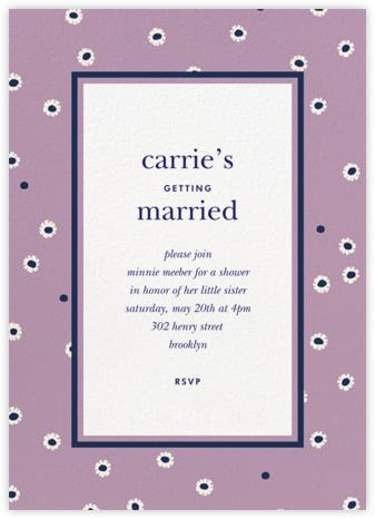 Daisy Days - Wisteria - kate spade new york - Bridal shower invitations