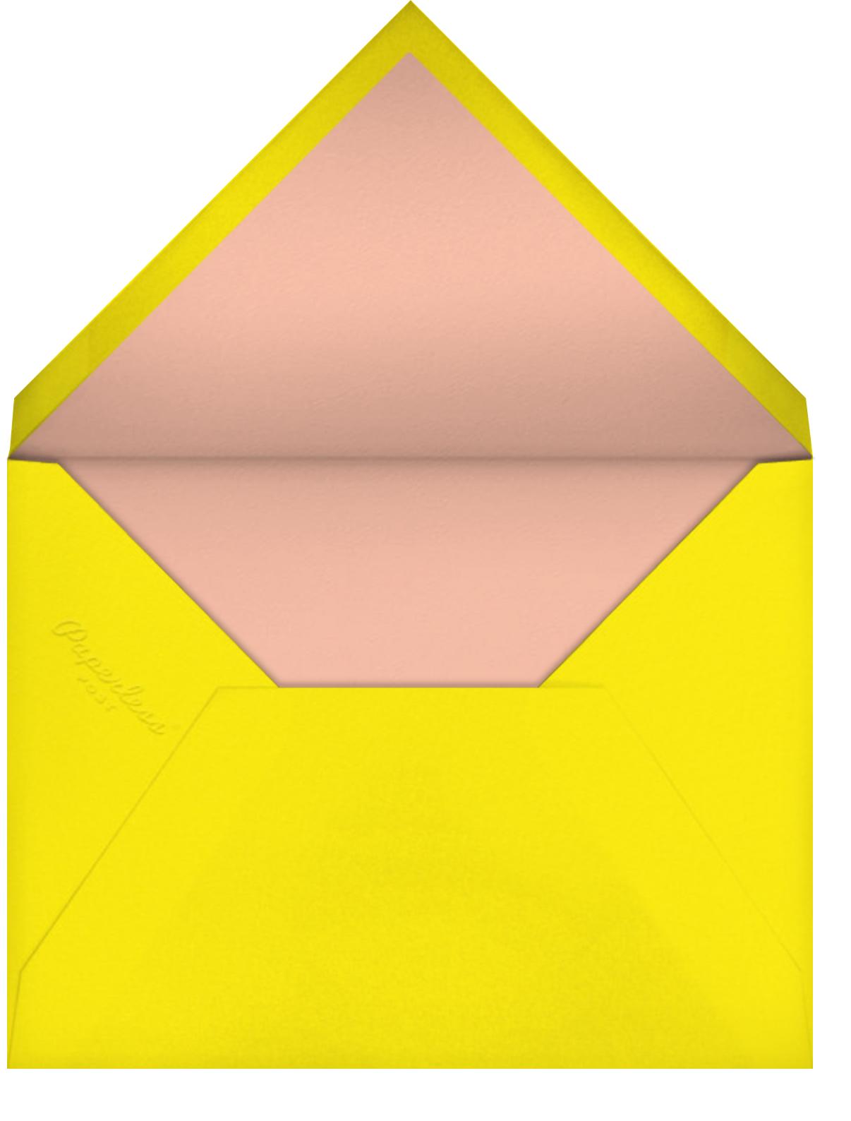 Floral Splash - Sherbet - kate spade new york - Adult birthday - envelope back