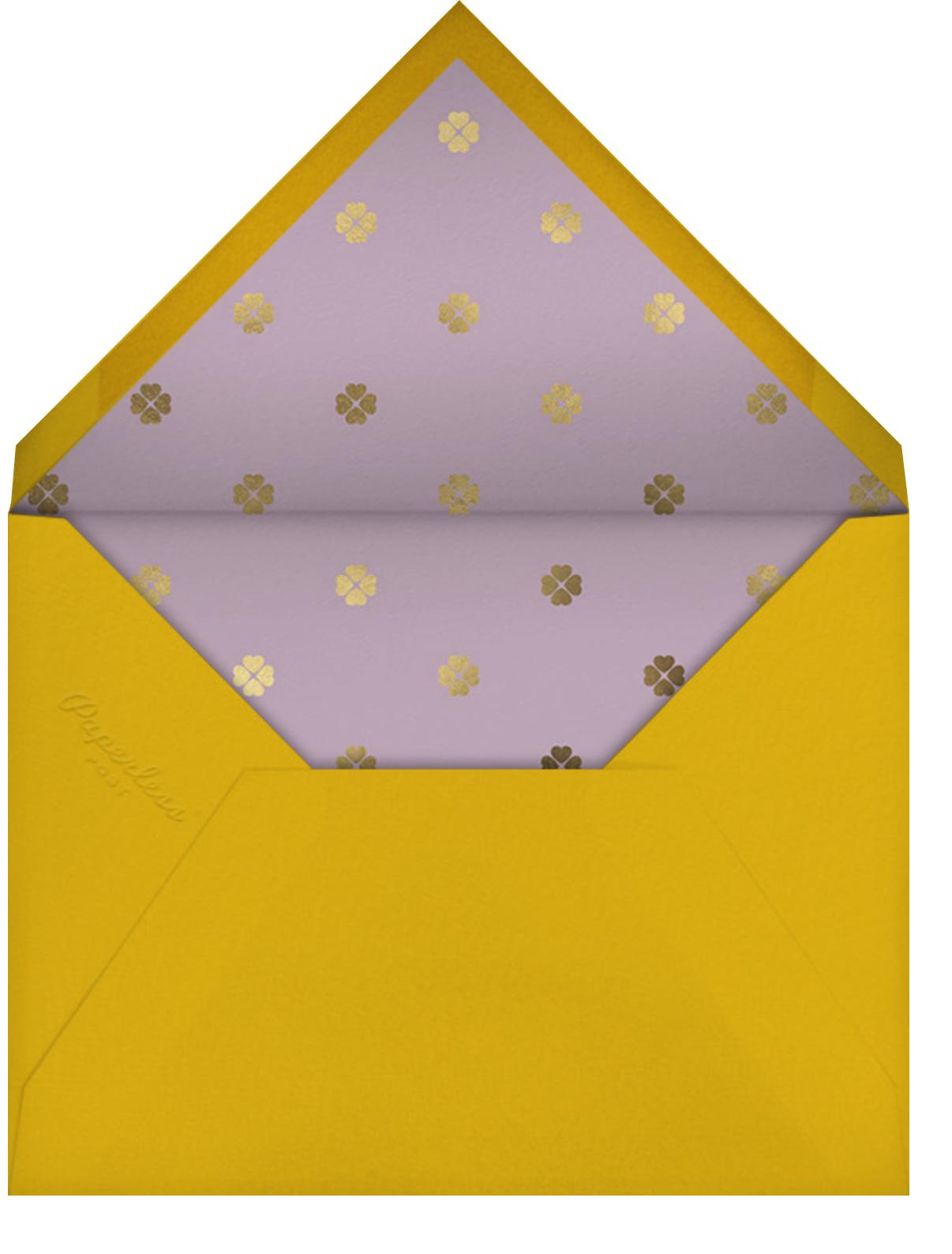 Swing Floral - kate spade new york - Graduation thank you cards - envelope back