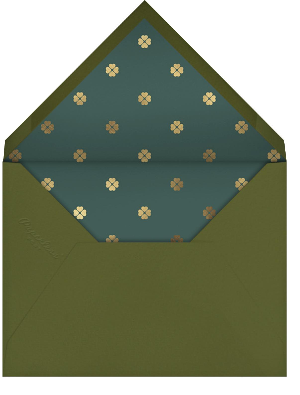 Wild Flora - Hydrangea  - kate spade new york - Adult birthday - envelope back