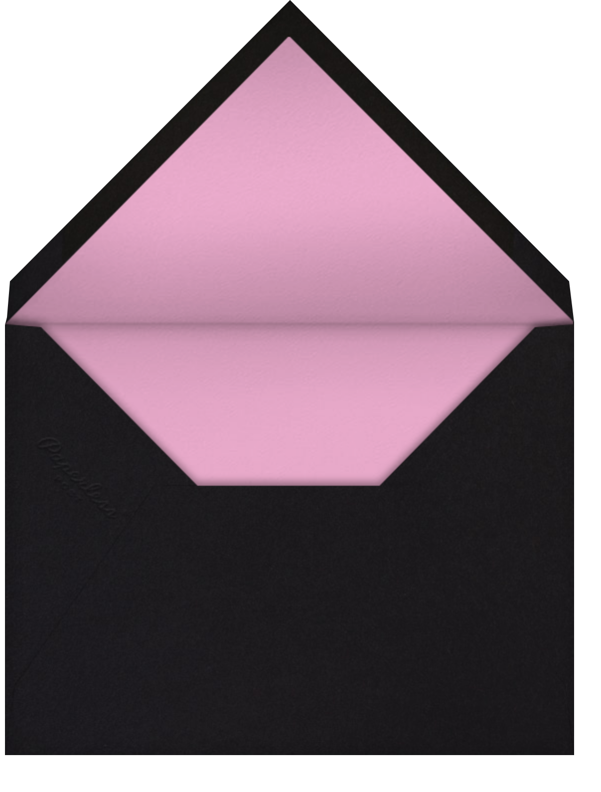 Meadow - Black - kate spade new york - Birthday - envelope back
