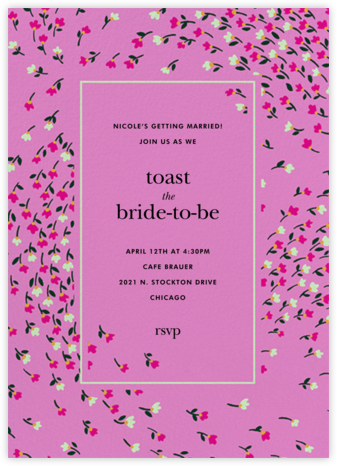 Meadow - Heath - kate spade new york - Bridal shower invitations