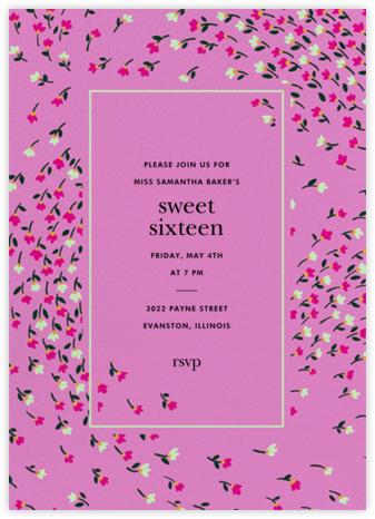 Meadow - Heath - kate spade new york - Sweet 16 invitations