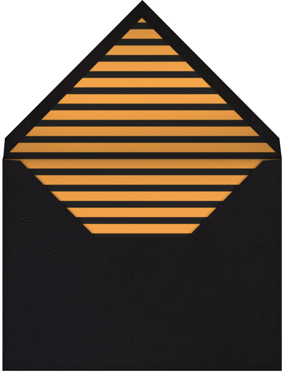 Howlin' Halloween - Orange - Paperless Post - Halloween - envelope back