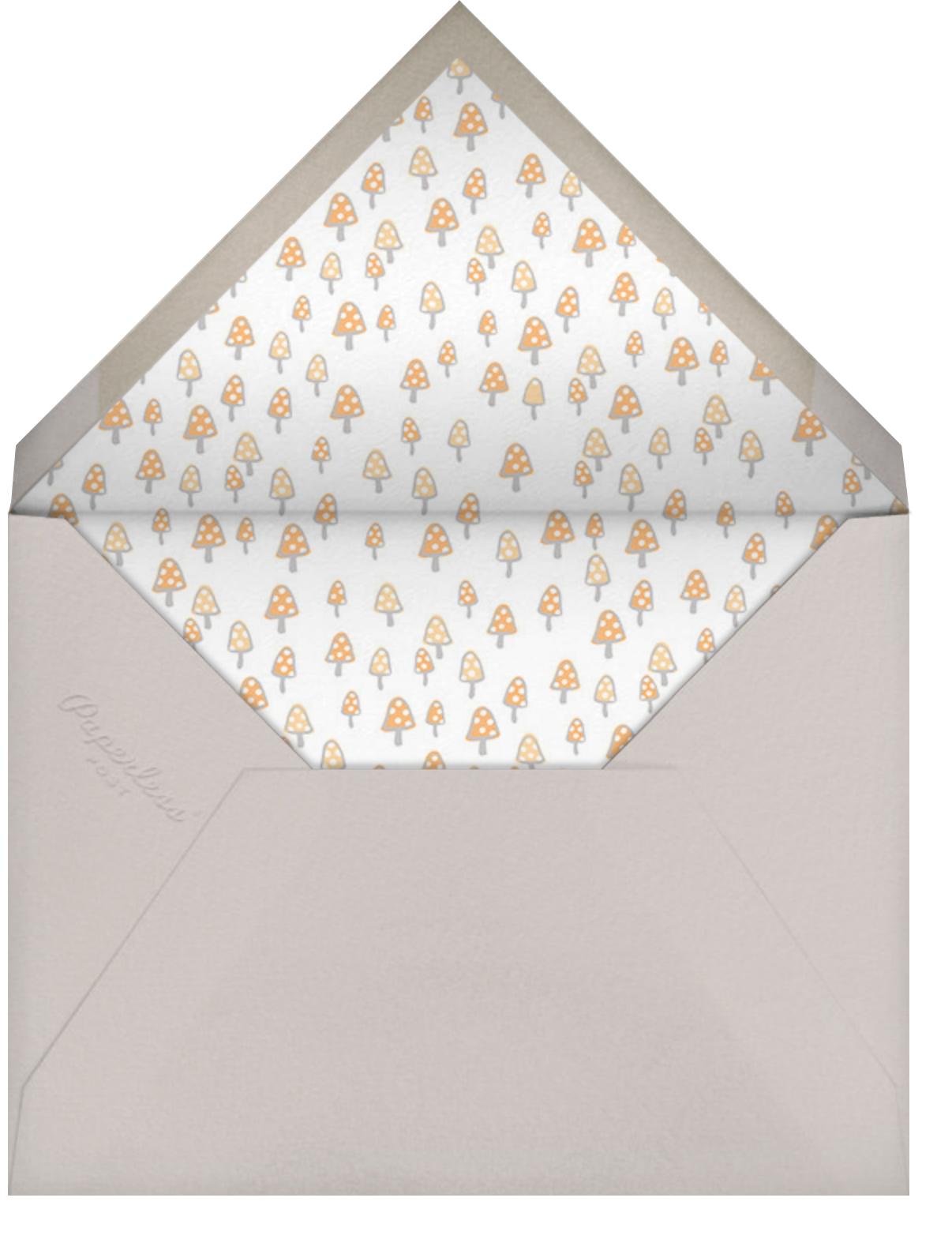 Starry Bunny - Hello!Lucky - Kids' birthday - envelope back