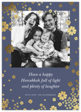 Clover and Over Photo - Cadet - kate spade new york - Hanukkah Cards