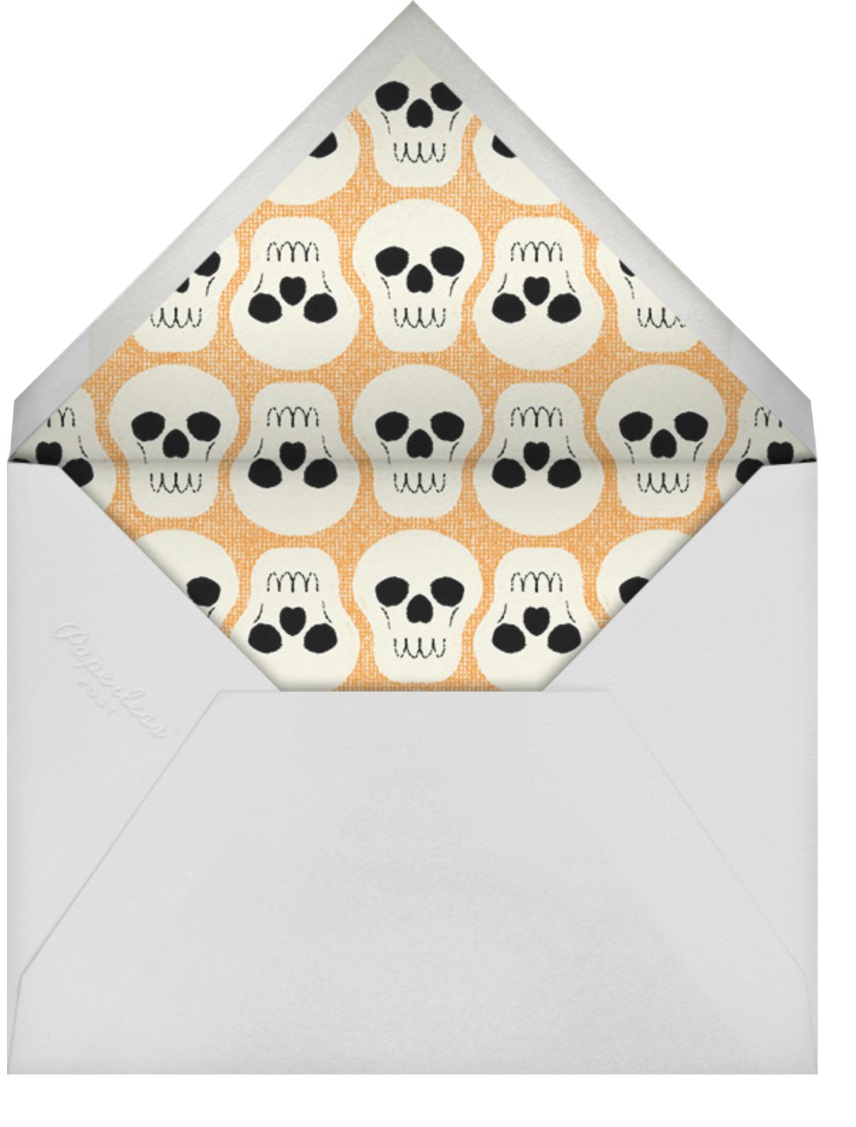 Black Cat - Paperless Post - Halloween - envelope back