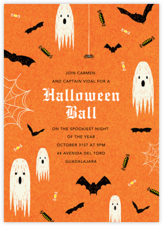 Halloween Ball - Paperless Post - Halloween invitations
