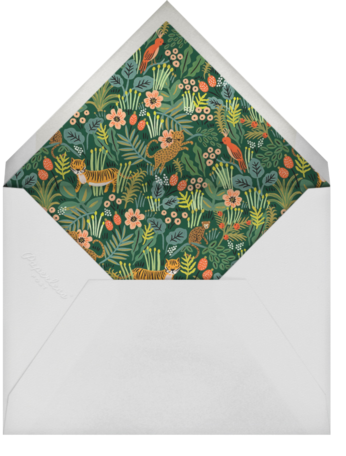 Alligator Birthday - Rifle Paper Co. - Kids' birthday - envelope back
