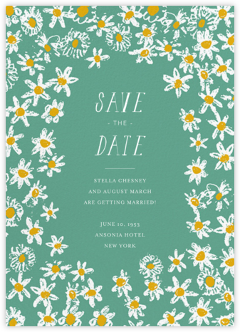 Among the Daisies - Amazon - Mr. Boddington's Studio - Save the dates