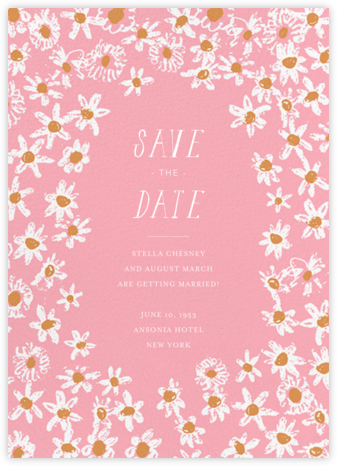 Among the Daisies - Blossom - Mr. Boddington's Studio - Save the dates