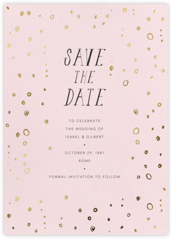 Fizzy - Meringue - Mr. Boddington's Studio - Save the dates
