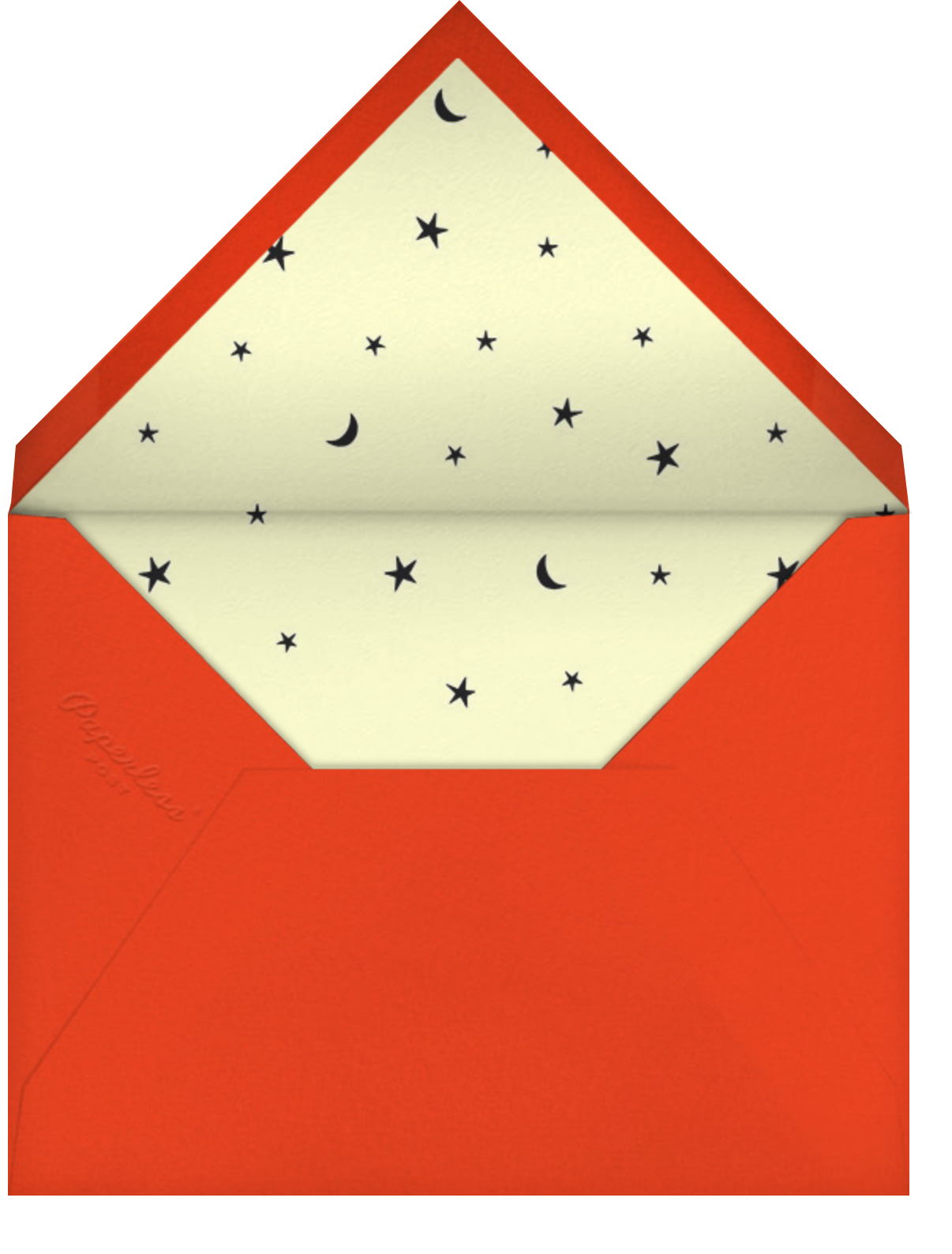 Melted - Paperless Post - Halloween - envelope back
