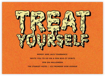 Melted - Paperless Post - Halloween invitations