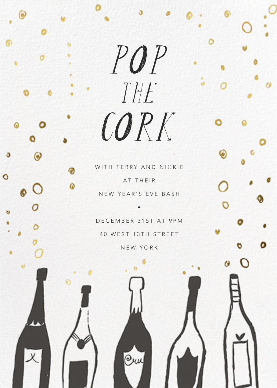 Uncorked - Mr. Boddington's Studio - New Year's Eve
