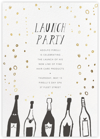 Uncorked - Mr. Boddington's Studio - Launch Party Invitations