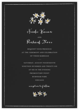 Better Daisies (Invitation) - Caviar - Mr. Boddington's Studio - Wedding Invitations
