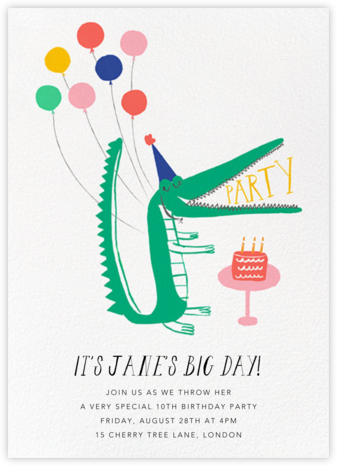 Looking Sharp - Mr. Boddington's Studio - Kids' birthday invitations