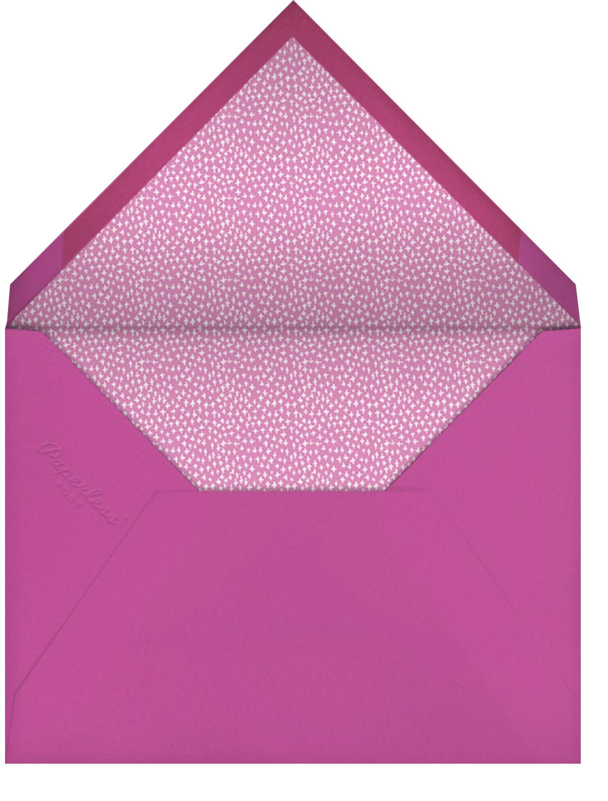Sips and Sweets - Mr. Boddington's Studio - Bridal shower - envelope back