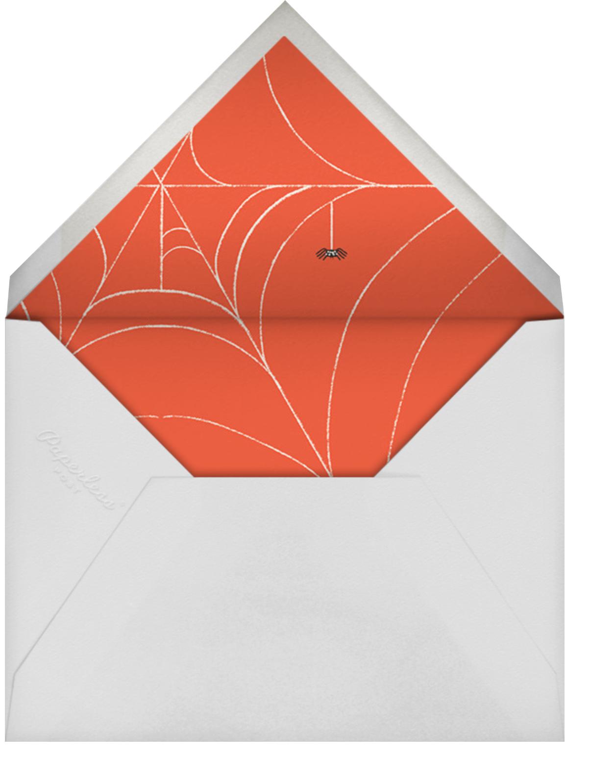 Halloween Ball - Paperless Post - Halloween - envelope back
