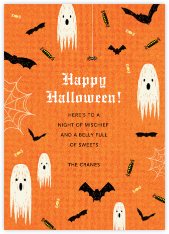Halloween Ball - Paperless Post - Halloween cards
