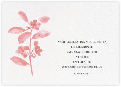 Watercolor Bloom - Blossom - Linda and Harriett - Bridal shower invitations