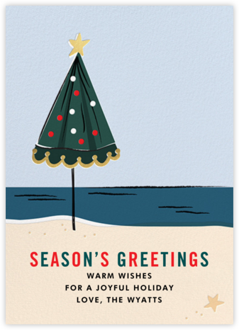 On Holiday (Greeting) - Cheree Berry - Christmas Cards