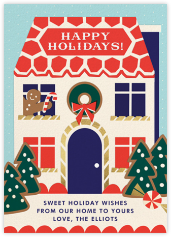 Ginger Neighbor (Greeting) - Cheree Berry - Holiday cards
